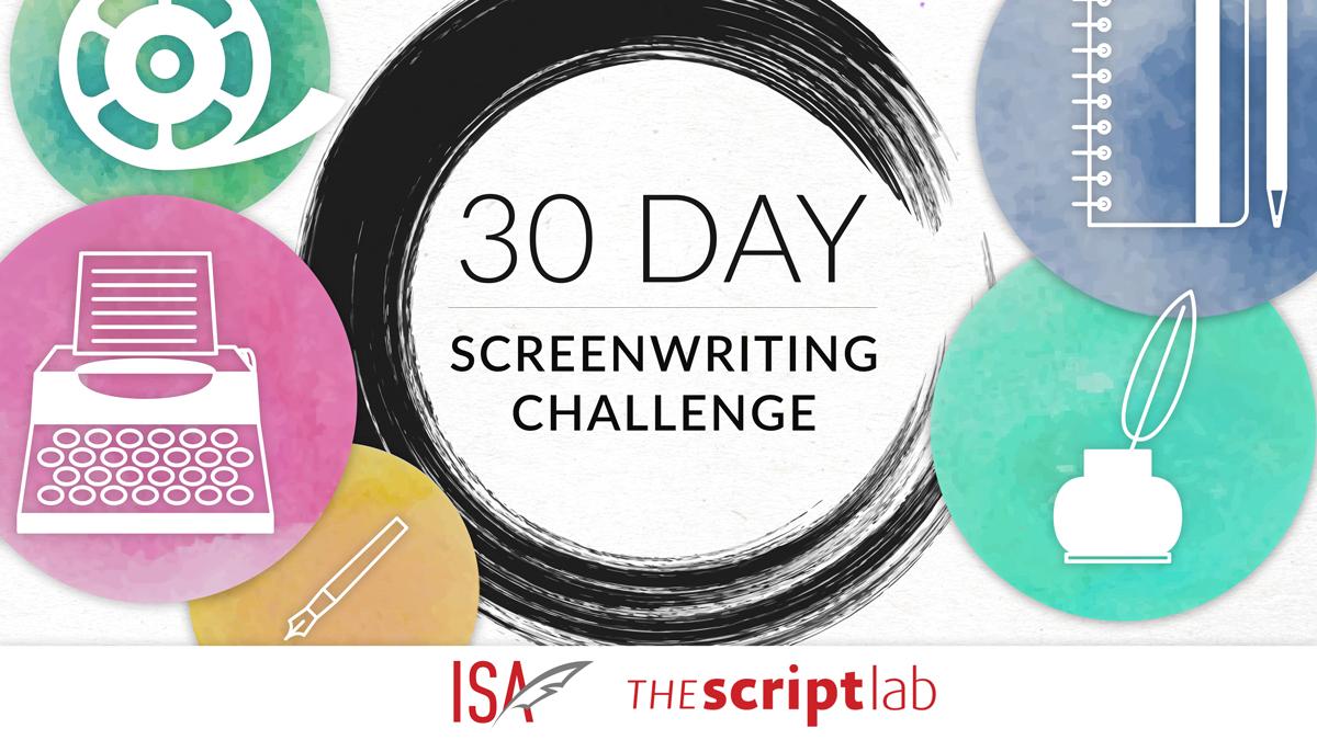 30 Day Screenwriting Challenge